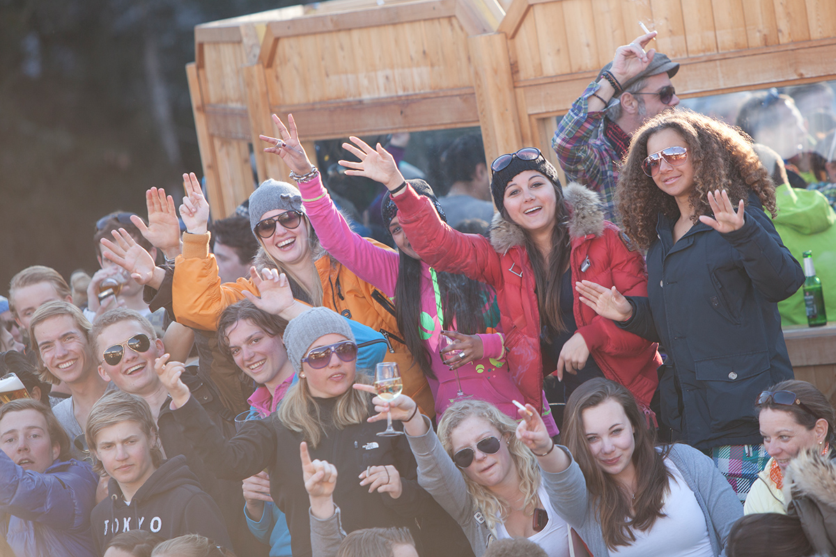 Bilder Vom Après Ski Beim Mooserwirt In St Anton Am Arlberg